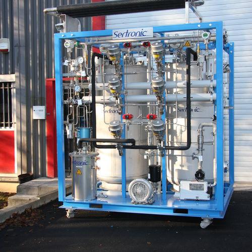 floor-standing gas purifier / filter / hydrogen