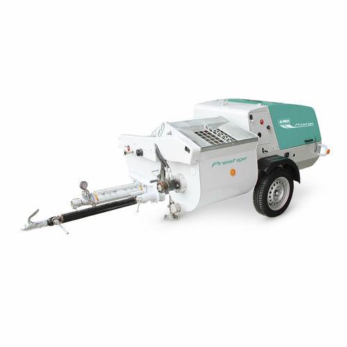 Diesel engine pump / screw / liquid-cooled / mixing Prestige IMER International SPA