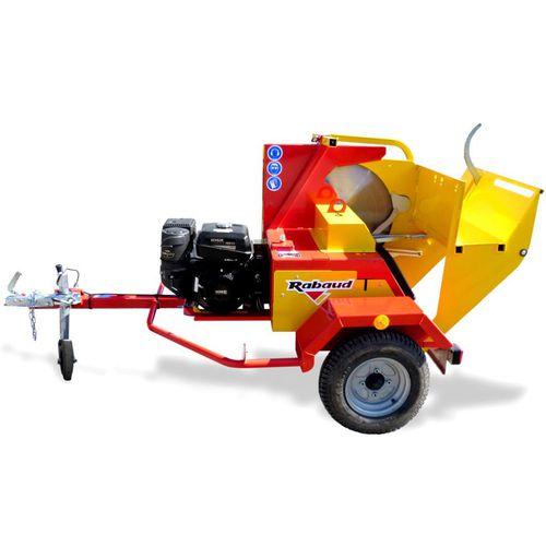 circular saw / wood / combustion engine / carbide blade