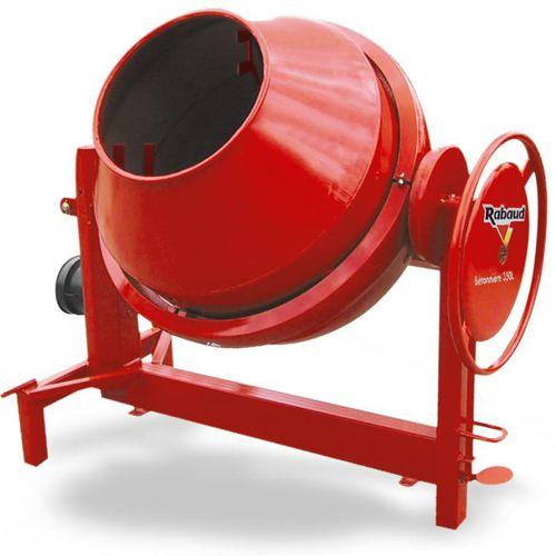 electric concrete mixer / stationary / traditional