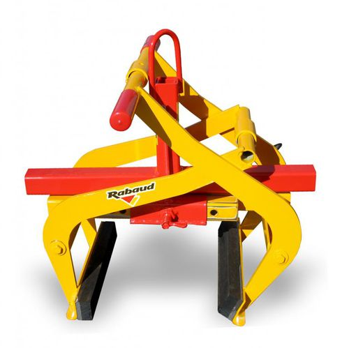 mechanical curbstone laying clamp