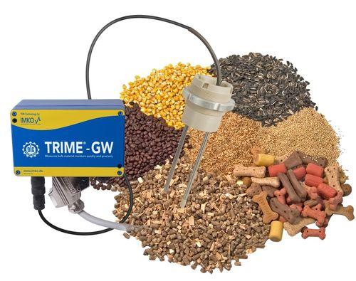 grain moisture meter / by resistivity measurement / in-line