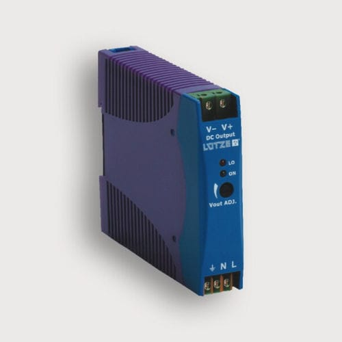 regulated power supply / AC/DC / DIN rail / single-phase