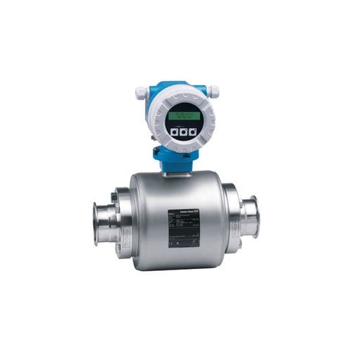 electromagnetic flow meter / for liquids / compact / with digital output