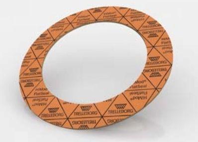 Flat seal / flange / rubber HiMod® FlatSeal™ 10 Trelleborg Sealing Solutions
