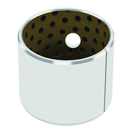 Polymer plain bearing / metal / resin / grease lubricated DX®10 GGB