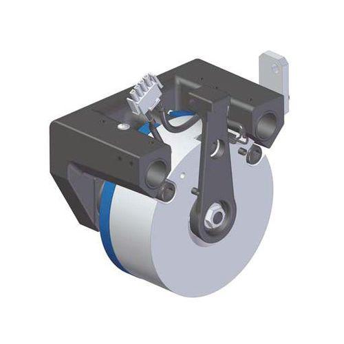 disc brake caliper / electromagnetic release / emergency