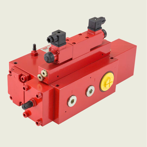 Spool hydraulic directional control valve / lever-operated / 2-way / compact CV series BUCHER Hydraulics