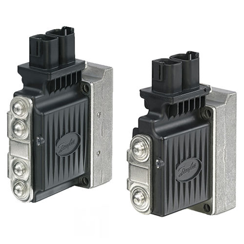 electro-hydraulic valve actuator / linear / double-acting / bus-capable