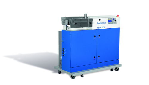 compounding extruder / twin-screw / compact / laboratory