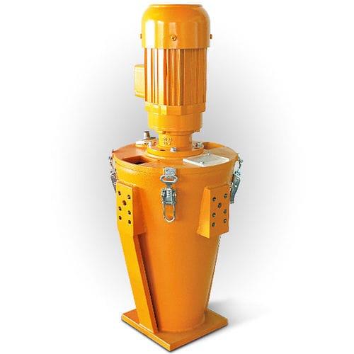 resin batch blender / granulates / for plastic pellets / powder