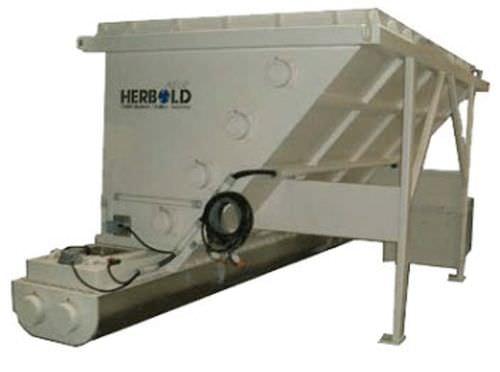 horizontal silo / for film / for plastic film / for plastics