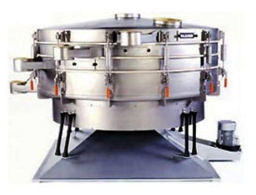 vibrating screener / tumbler / for bulk materials / for industry