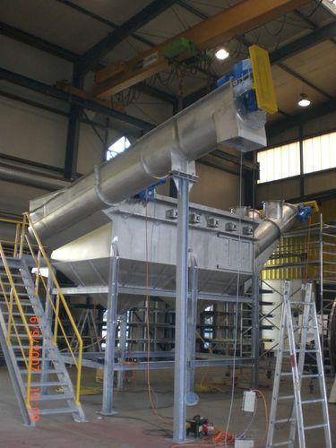 Plastics recycling unit TB series NEUE HERBOLD Maschinen-u. Anlagenbau GmbH