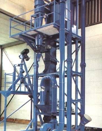 Air separator / particle / granulates / for bulk materials ZS Series NEUE HERBOLD Maschinen-u. Anlagenbau GmbH
