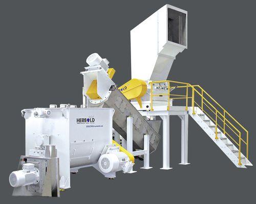 PET bottle recycling unit / for plastic film max. 2000 kg/h NEUE HERBOLD Maschinen-u. Anlagenbau GmbH