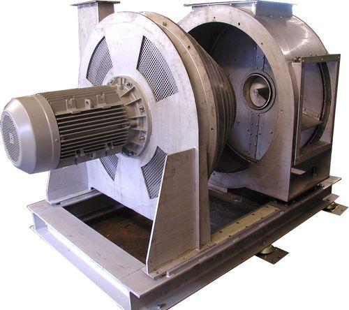 Centrifugal dryer / continuous / for bulk materials / for plastic pellets T Series NEUE HERBOLD Maschinen-u. Anlagenbau GmbH