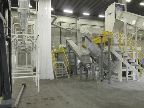 PET bottle recycling unit / for plastic film NEUE HERBOLD Maschinen-u. Anlagenbau GmbH