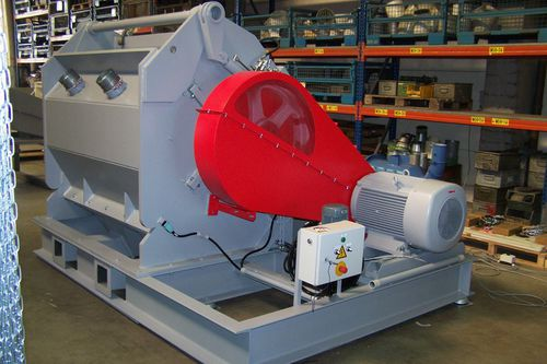 hammer mill / for mixed waste / for organic waste / for plastics