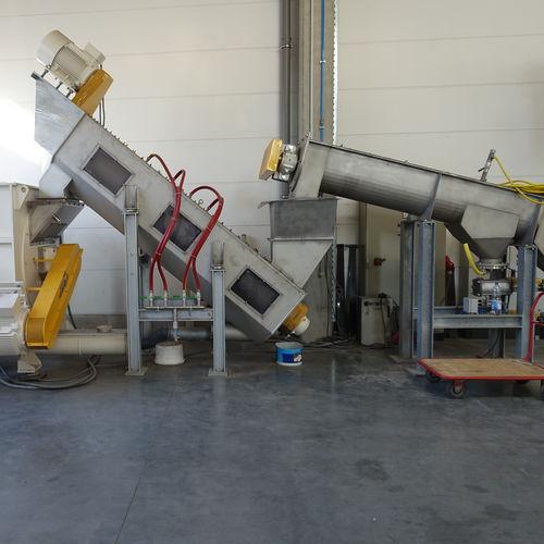 PET bottle recycling unit / for plastic film ES series NEUE HERBOLD Maschinen-u. Anlagenbau GmbH