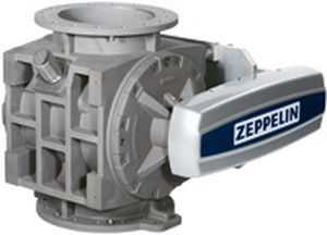 Pneumatic conveying rotary valve / round-flange / explosion-proof CFM series Zeppelin Silos & Systems