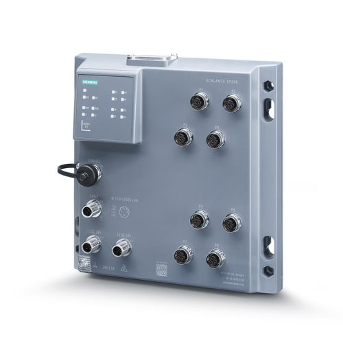 Managed ethernet switch / 8 ports / gigabit / layer 2 SCALANCE XP208 Siemens Industrial Communication
