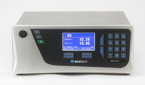 carbon monoxide analyzer / trace / benchtop / for ambient air