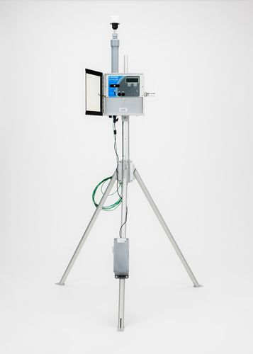 measurement monitoring device / air / particle / digital