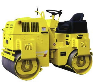 Tandem road roller / vibrating / articulated max. 1 550 kg ( 3 420 lbs ) | SW200/230/250 SAKAI HEAVY INDUSTRIES