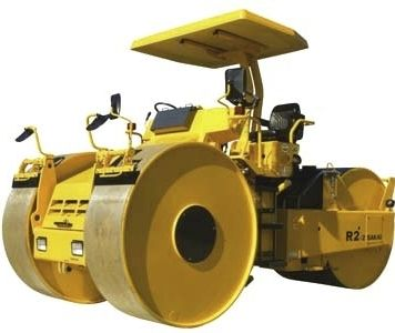Static three-wheel road roller / articulated max. 14 345 kg (31 625 lbs ) | R2-2/R2-2K Series SAKAI HEAVY INDUSTRIES