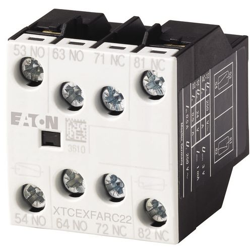 power contactor / electromagnetic / auxiliary