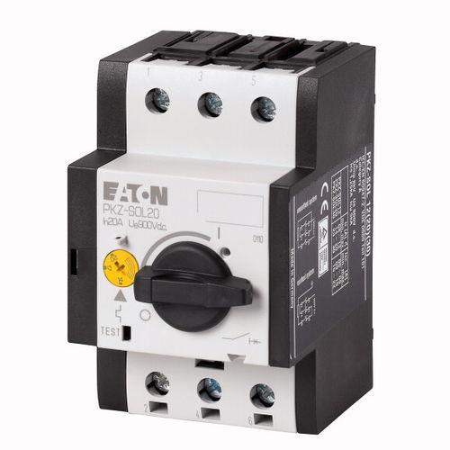 thermal-magnetic circuit breaker / short-circuit / overload / DC