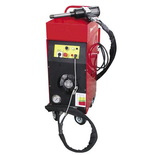 wheel-mounted hydraulic power unit