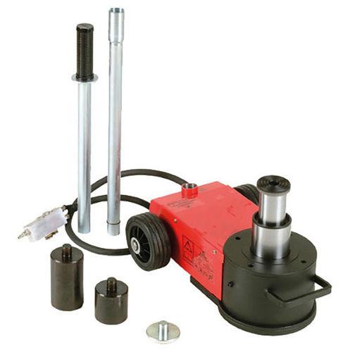 hydraulic jack / pneumatic / for heavy loads / handheld