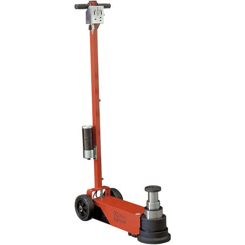 hydraulic jack / pneumatic / for heavy loads / 3-stage