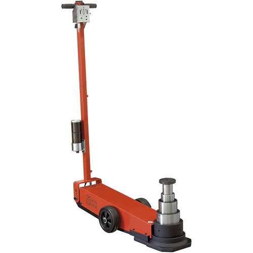hydraulic jack / pneumatic / for heavy loads / multi-stage