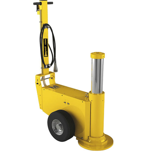 hydraulic jack / pneumatic / 1-stage