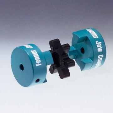 elastic coupling / for shafts / steel / flange