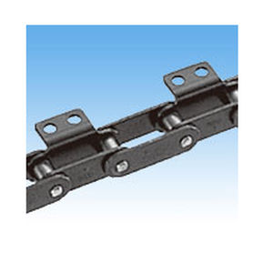steel conveyor chain / small-size / double-pitch / lube-free