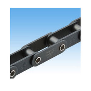 steel conveyor chain / hollow-shaft / small-size / double-pitch