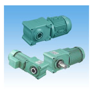 single-phase electric gearmotor / three-phase / orthogonal / hypoid