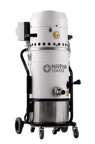 Dry vacuum cleaner / single-phase / industrial / with HEPA filter 15ATEX series Nilfisk Industrial Vacuum Solutions