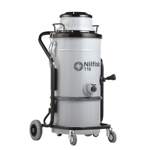 Dry vacuum cleaner / hazardous dust / single-phase / industrial 118 L-M-H series Nilfisk Industrial Vacuum Solutions