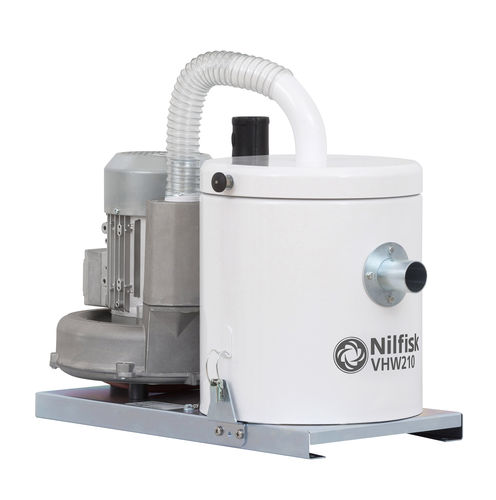 dust vacuum cleaner / single-phase / three-phase / for the food industry