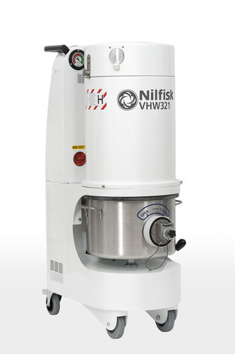 hazardous dust vacuum cleaner / three-phase / for the food industry / for clean rooms