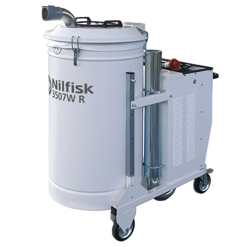 Waste vacuum cleaner / three-phase / industrial / mobile 3507W R series Nilfisk Industrial Vacuum Solutions