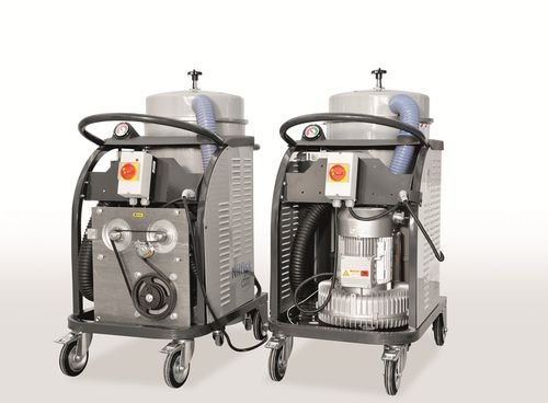 Dry vacuum cleaner / three-phase / industrial / with HEPA filter CTS 22 Nilfisk Industrial Vacuum Solutions