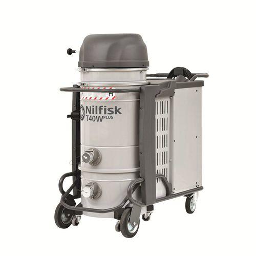 Dry vacuum cleaner / hazardous dust / three-phase / industrial T40WPLUS L-M-H series Nilfisk Industrial Vacuum Solutions