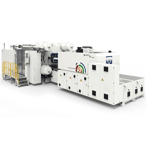 horizontal injection molding machine / hydraulic / electric / hybrid