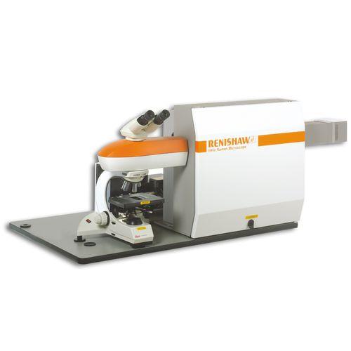 Raman spectrometer inVia RENISHAW